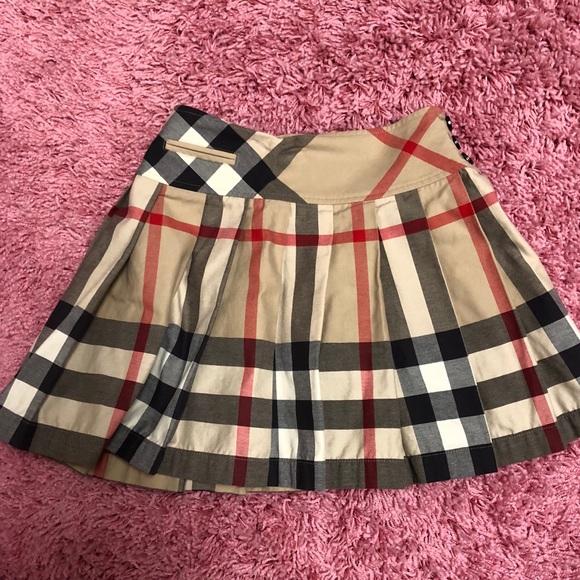 d64c7d49c2 Burberry Bottoms   Girls Nova Check Skirt   Poshmark